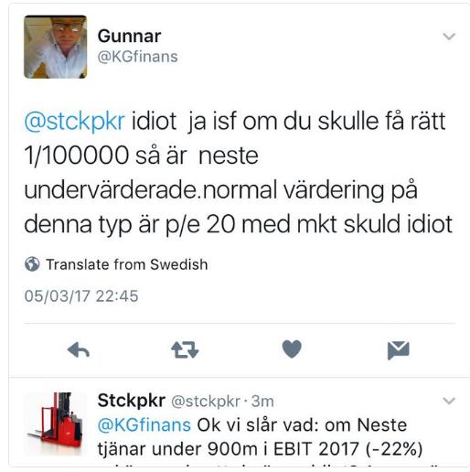 Galne Gunnar KRONAN TILL MILJONEN