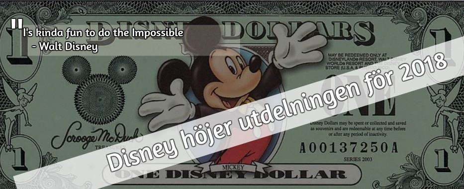 Disney ger en tidig julklapp