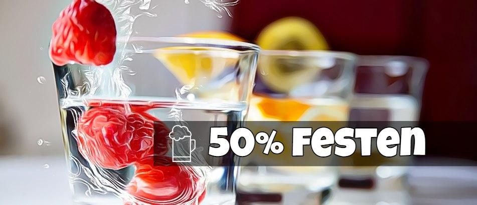 50% festen