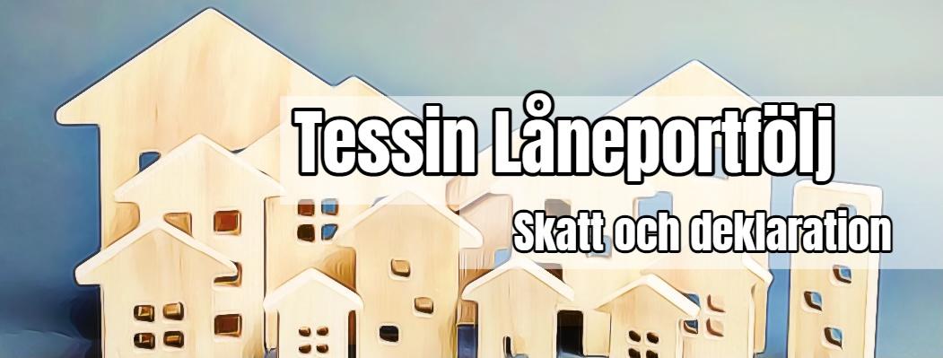 - ANNONS -  Tessin låneportfölj – skatt och deklaration