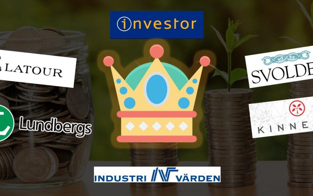 Bästa investmentbolaget 2021 👑